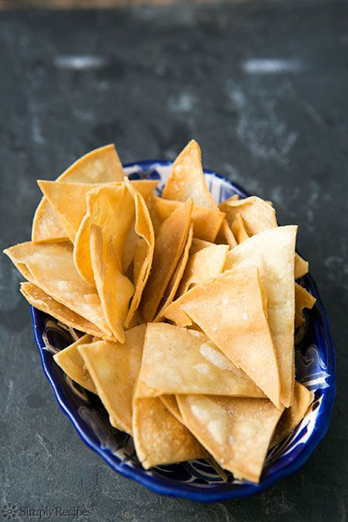 30+ MORE Foods You Can Make Yourself - Homemade Tortilla Chips