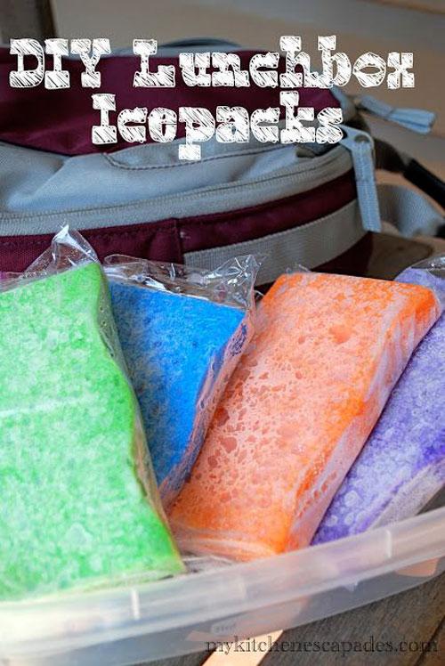 Lunch Box Hacks - Lunchbox Icepacks
