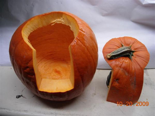 Pumpkin Carving Hacks - A Better Way to Slice a Pumpkin