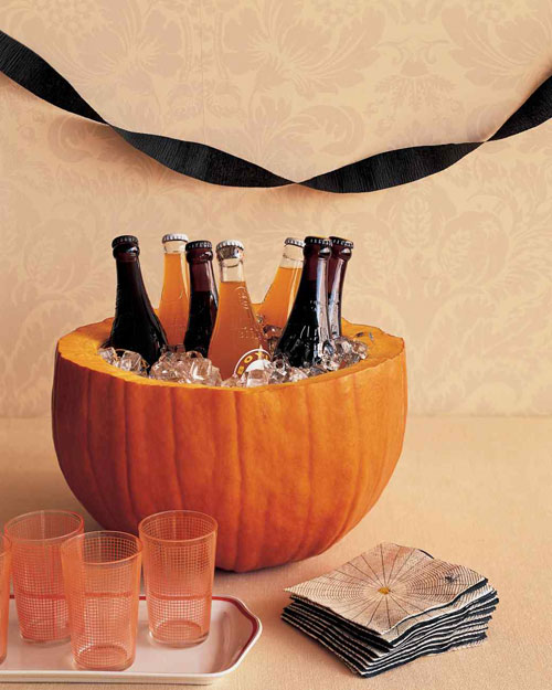 Pumpkin Carving Hacks - Pumpkin Party Cooler