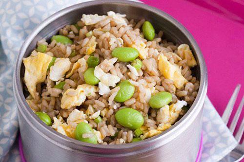 Non-Sandwich Lunch Ideas - Teriyaki Fried Rice