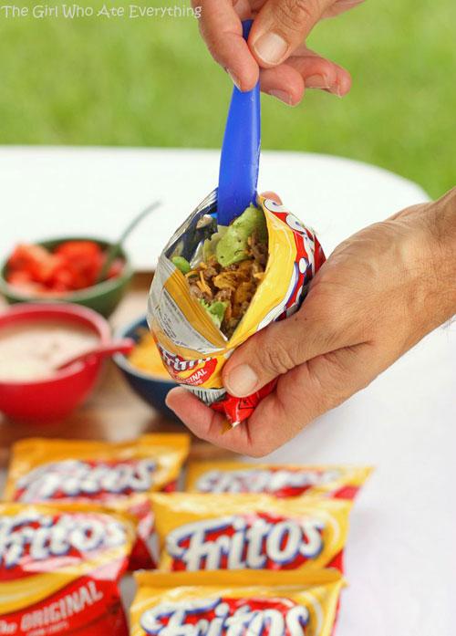 Non-Sandwich Lunch Ideas - Walking Tacos