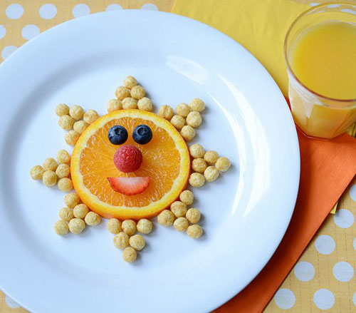 50+ Kids Food Art Lunches - Cute Little Sunshine