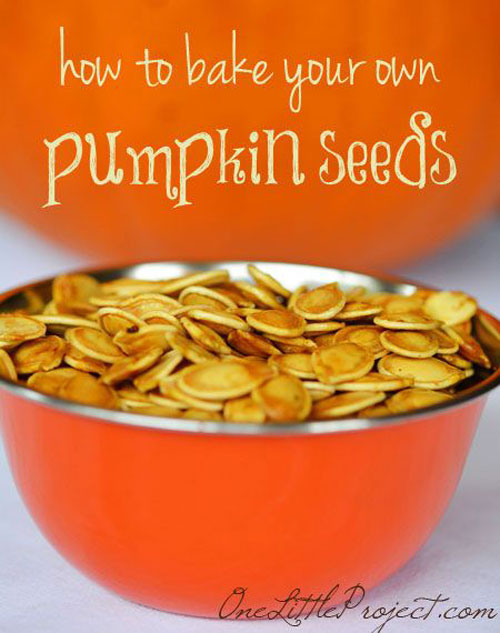 Halloween Food Ideas - Pumpkin Seeds