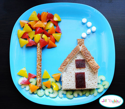 50+ Kids Food Art Lunches - Little House on the Plate