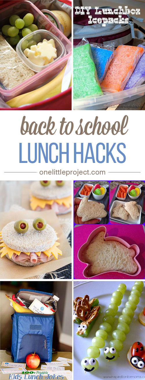 Back to School Lunch Hacks