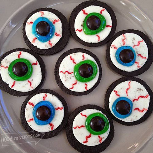 Halloween Eyeball Food Ideas