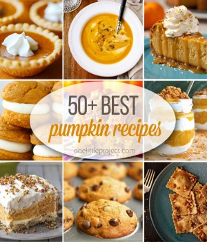 50+ Best Pumpkin Recipes
