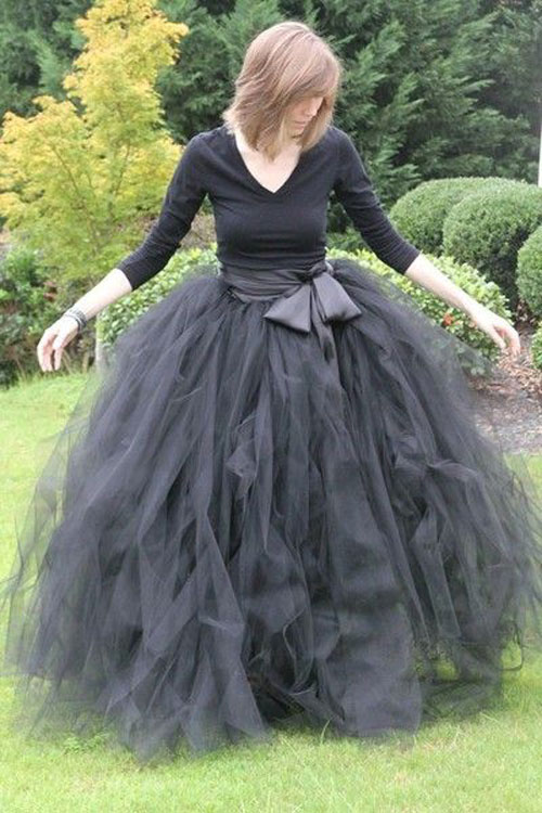 Halloween Party Ideas for Adults - DIY Witch Skirt