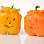 Stuffed Pepper Jack-o-Lanterns