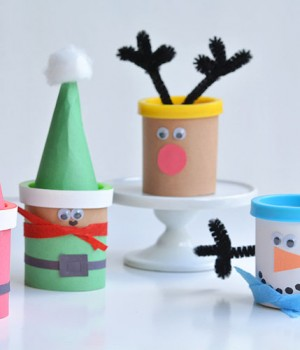 Christmas Play-doh Favours