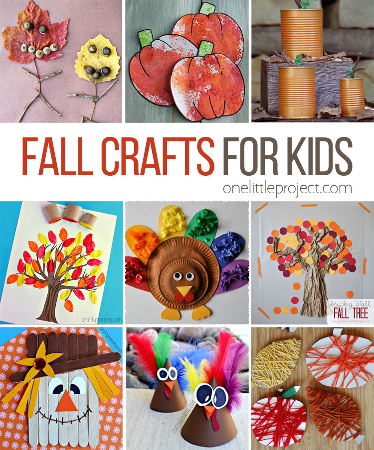 These fall crafts for kids are wonderful! I'm always amazed how creative people are! There are lots of great ideas here that the kids are going to LOVE.