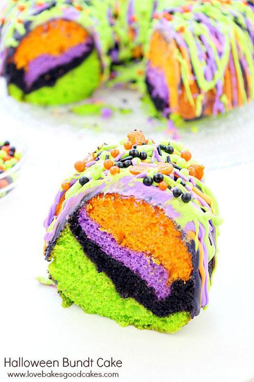 Halloween Party Ideas for Adults - Halloween Bundt Cake