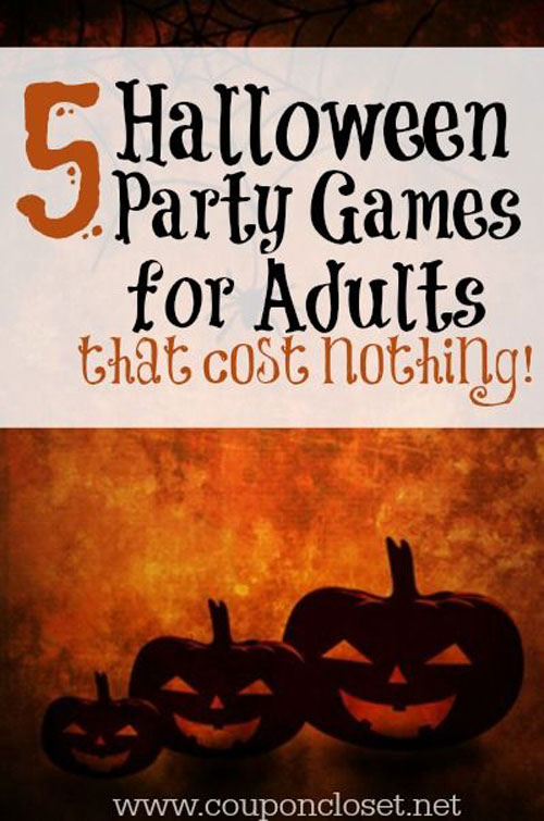 34 inspiring halloween party ideas for adults for Diy party games for adults