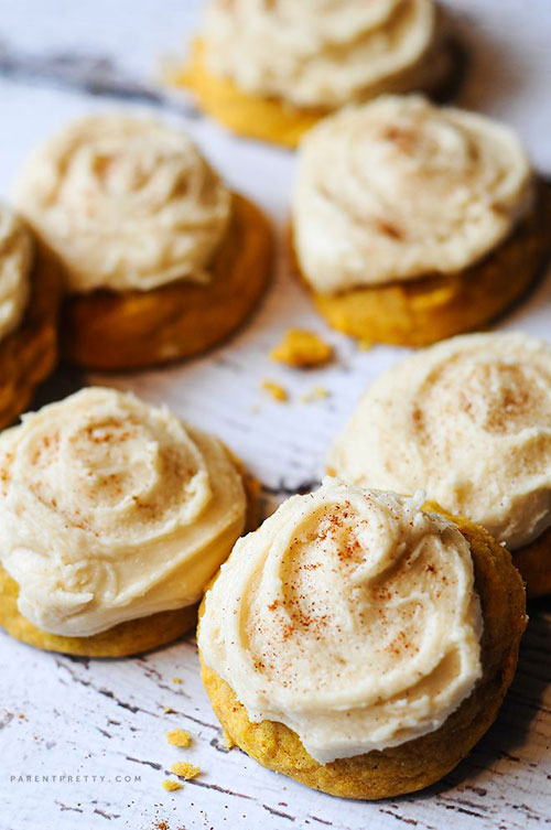 50+ Best Pumpkin Recipes - Melt-in-Your-Mouth Pumpkin Cookies