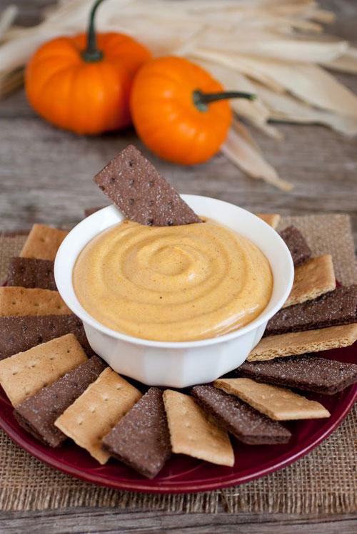 50+ Best Pumpkin Recipes - Pumpkin Pie Dip