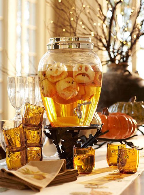 Halloween Party Ideas for Adults - Shrunken Apple Heads