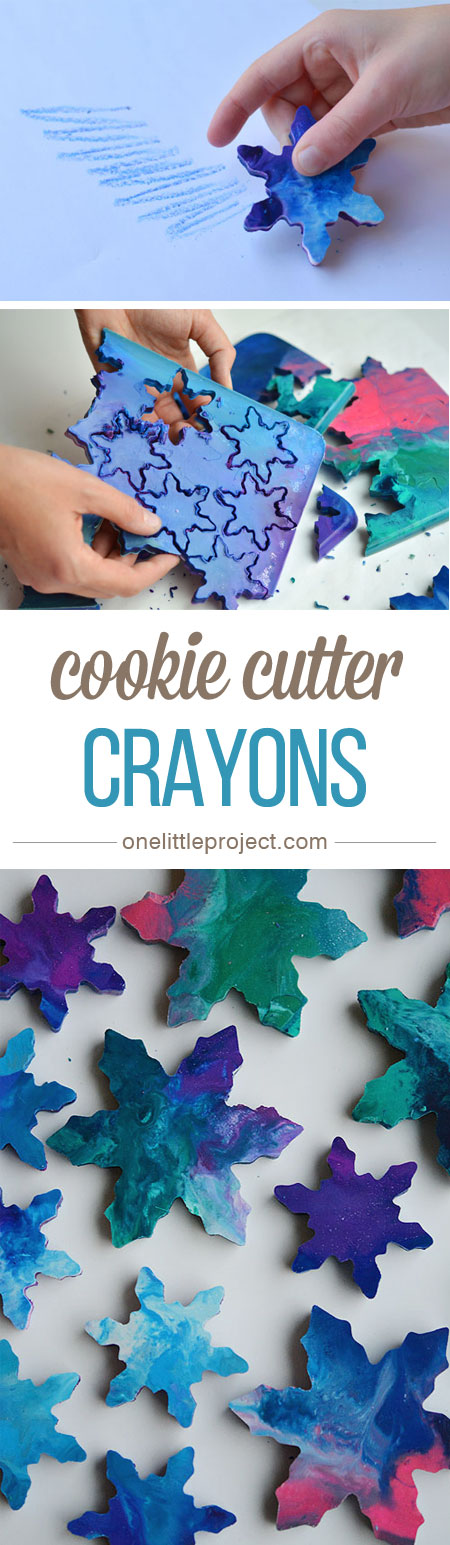 How To Make Cookie Cutter Crayons