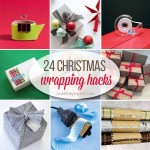24 Clever Christmas Wrapping Hacks