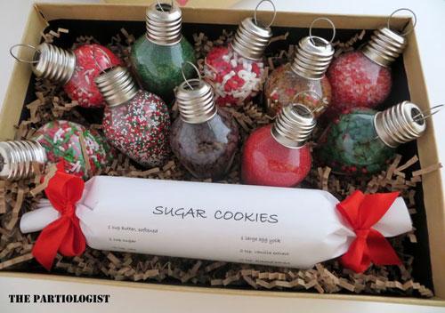 36 Easy Christmas Crafts - Christmas Light Treats