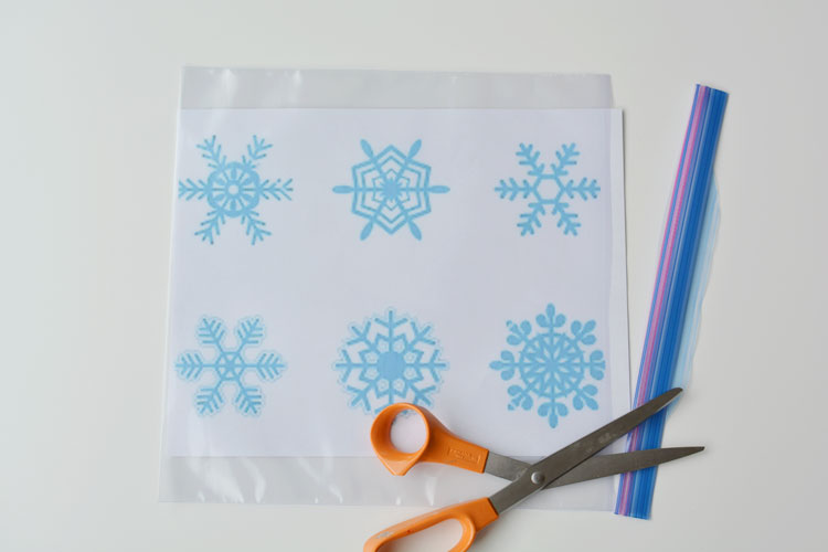 Sparkly Snowflake Window Clings - Snowflake window stickers amazon