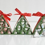 How to Make Hershey's Kisses Christmas Trees