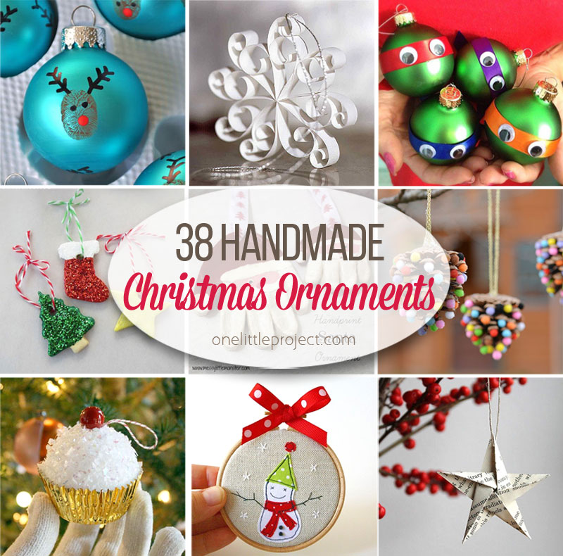 How To Make Christmas Decorations Youtube: 38 Easy Handmade Christmas Ornaments