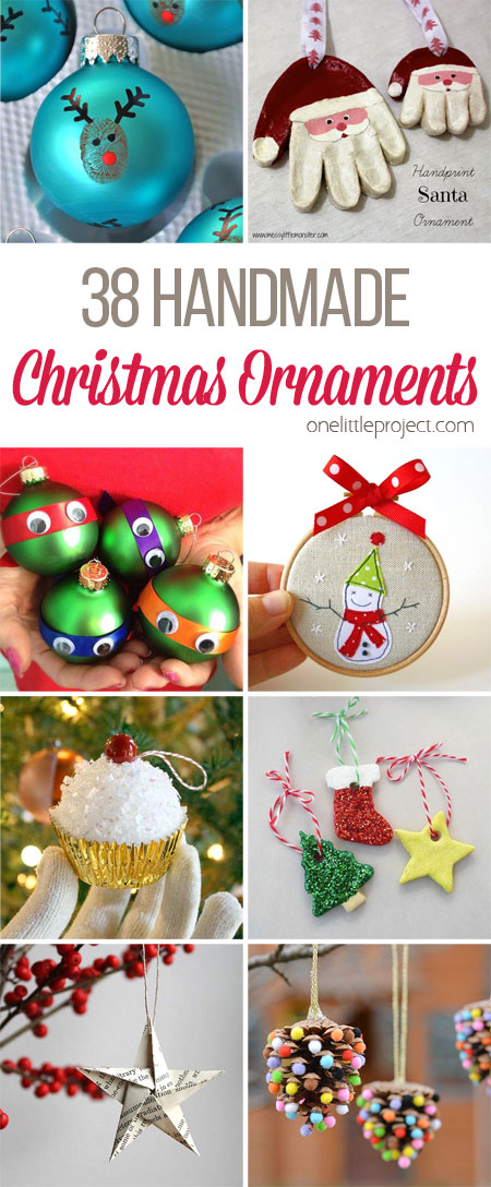 These handmade Christmas ornaments are so beautiful! I love the awesome keepsake ones! They'll make you smile ever year when you take them out of the box!