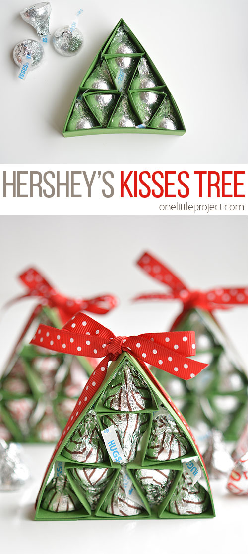 How to make hershey 39 s kisses christmas trees for Christmas craft shows in delaware