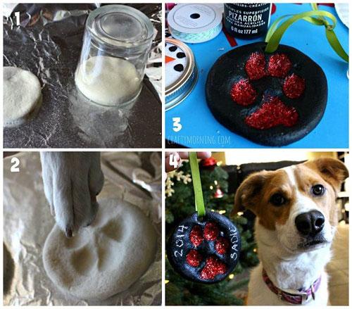38 Handmade Christmas Ornaments - Puppy Salt Dough Ornament