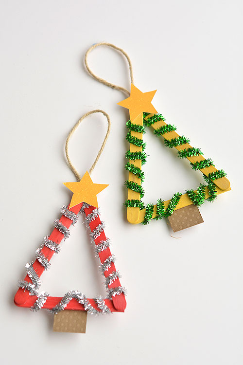 These Popsicle Stick Christmas Trees Are So Much FUN Theyre Easy To