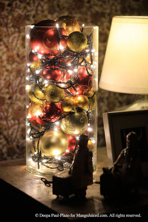 18 Clever Christmas Light Crafts - Leftover Christmas Balls and Lights