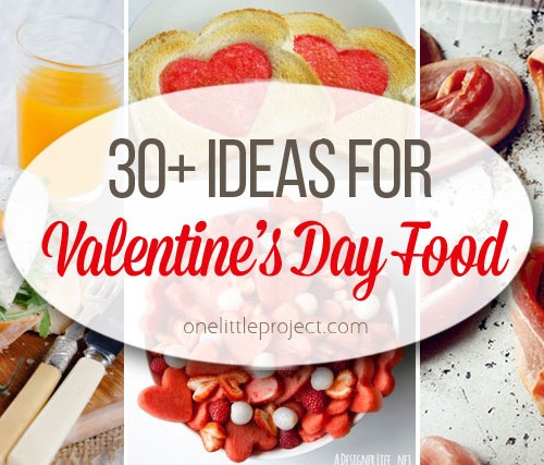 30+ Non-Candy Valentine's Day Food Ideas