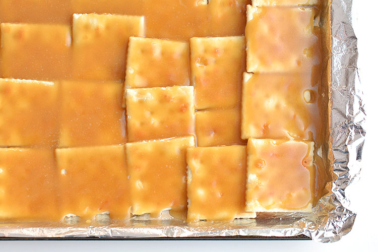 This saltine cracker toffee is incredibly addictive! It's so simple to make but it tastes amazing!! You NEED to try these!!