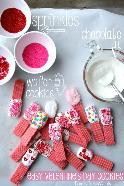 44 Sweet Valentine's Day Treats - Easy Valentine's Day Cookies