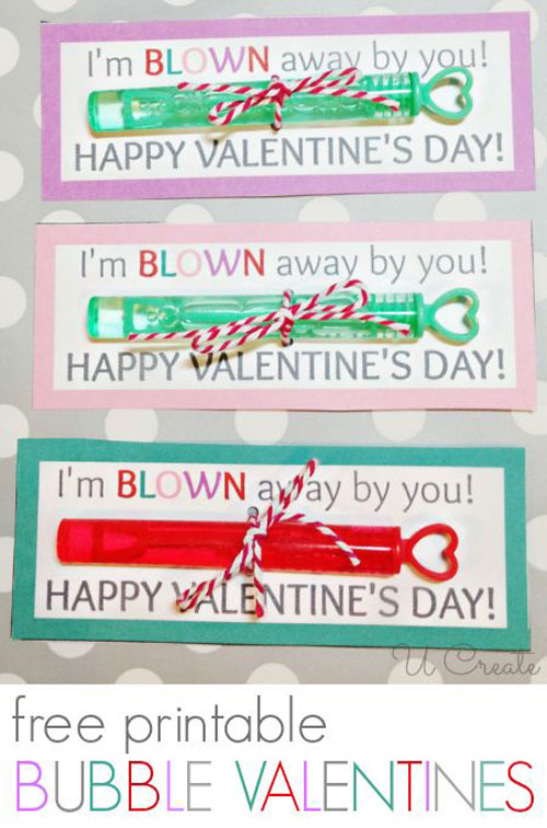 40+ Cute Valentine Ideas for Kids - I'm Blown Away Valentine's Printable