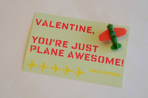 40+ Cute Valentine Ideas for Kids - Just Plane Awesome Valentine's Printable