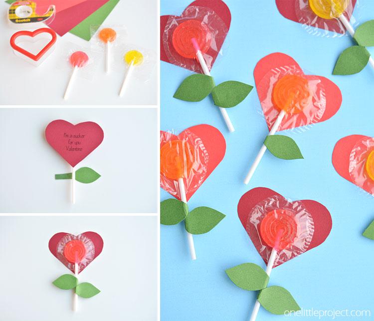 lolly pop heart flowers  one little project, Beautiful flower