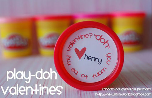 40+ Cute Valentine Ideas for Kids - Play-Doh Valentine's
