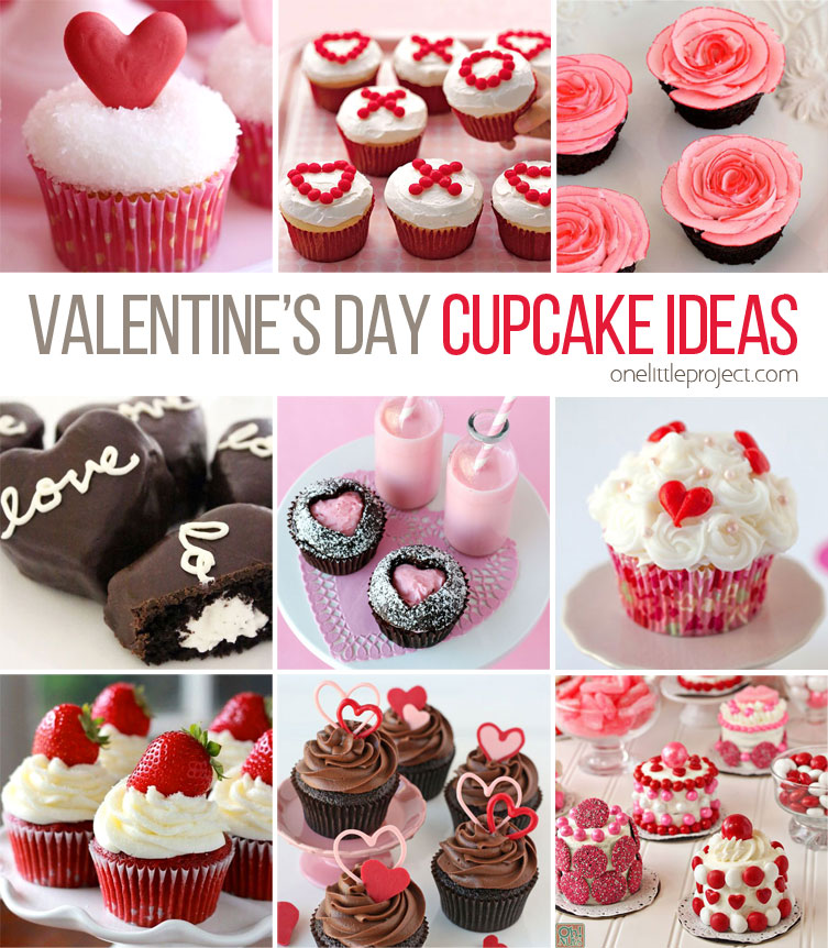 35+ valentine's day cupcake ideas - one little project, Ideas