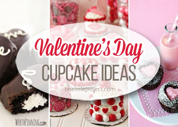35+ Valentine's Day Cupcake Ideas