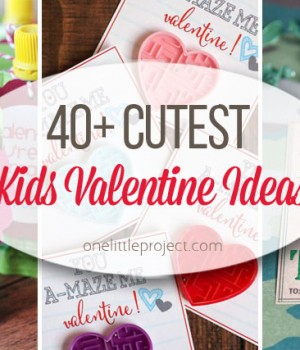 40 Cutest Kid's Valentines Ideas