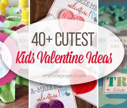 40 Cutest Kid's Valentines Ideas