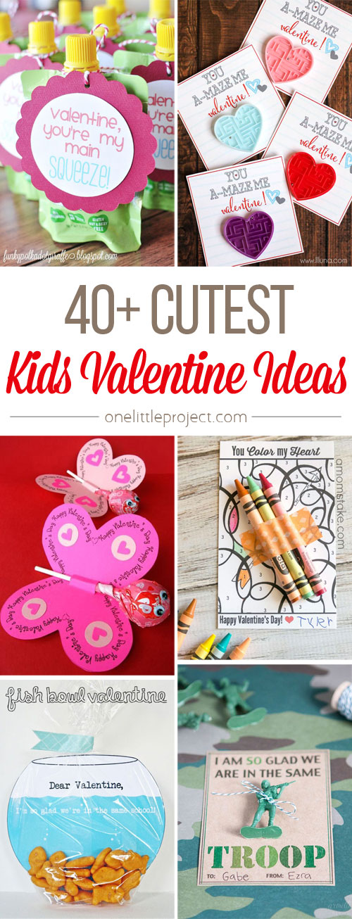 This List Of Cute Valentine Ideas For Kids Is AWESOME! Seriously, Arenu0027t