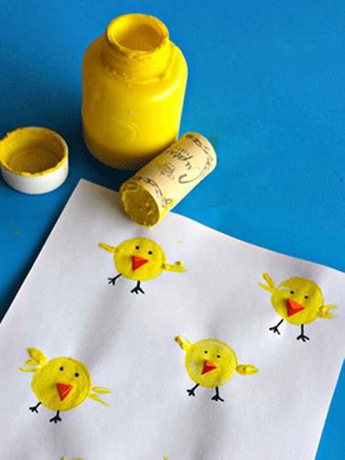 40+ Simple Easter Crafts for Kids - Wine Cork Chicks Craft