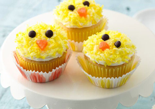 35 Adorable Easter Cupcake Ideas - Easter Chicks Cupcakes