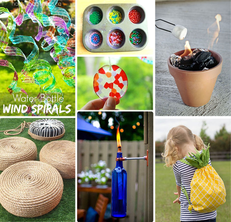 So many amazing ideas! Now that the weather is finally starting to warm up, I'm just drooling over all the fun DIY summer projects I want to try!
