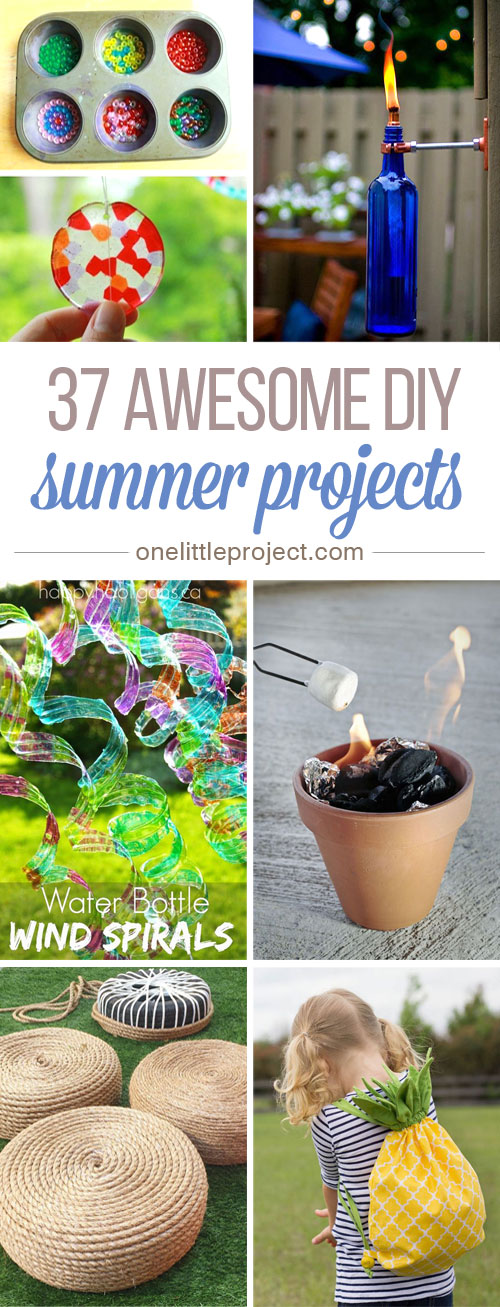 37 Awesome DIY Summer Projects