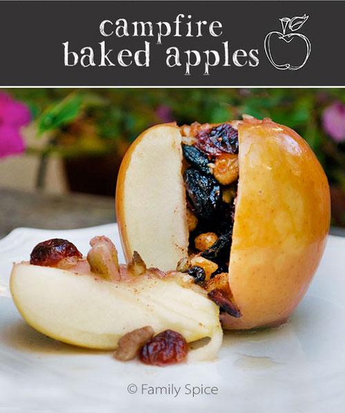 30+ Best Campfire Desserts - Campfire Baked Apples