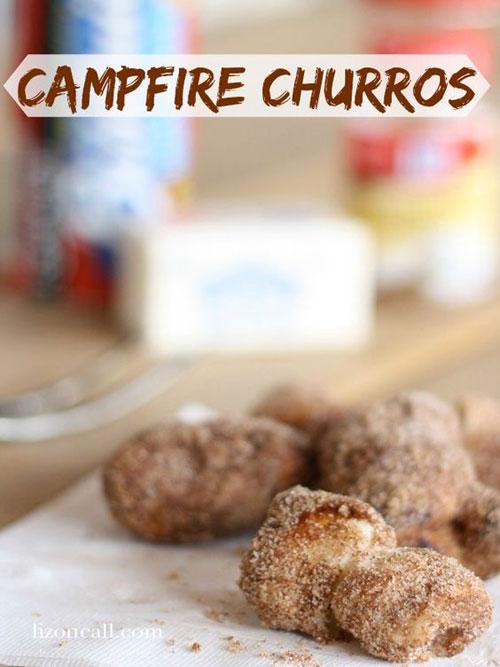 30+ Best Campfire Desserts - Campfire Churros